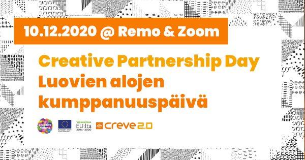 Kuvituskuva: Luovien alojen kumppanuuspäivä / Creative Partnership Day 10.12.2020